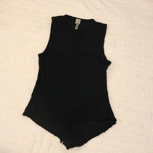 Intimately FREE PPL Sleeveless Bodysuit, Black